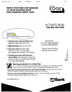 $13,500 U.S. BANK APPROVAL