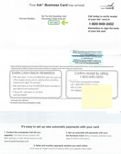 $17,000 IC BUSINESS APPROVAL